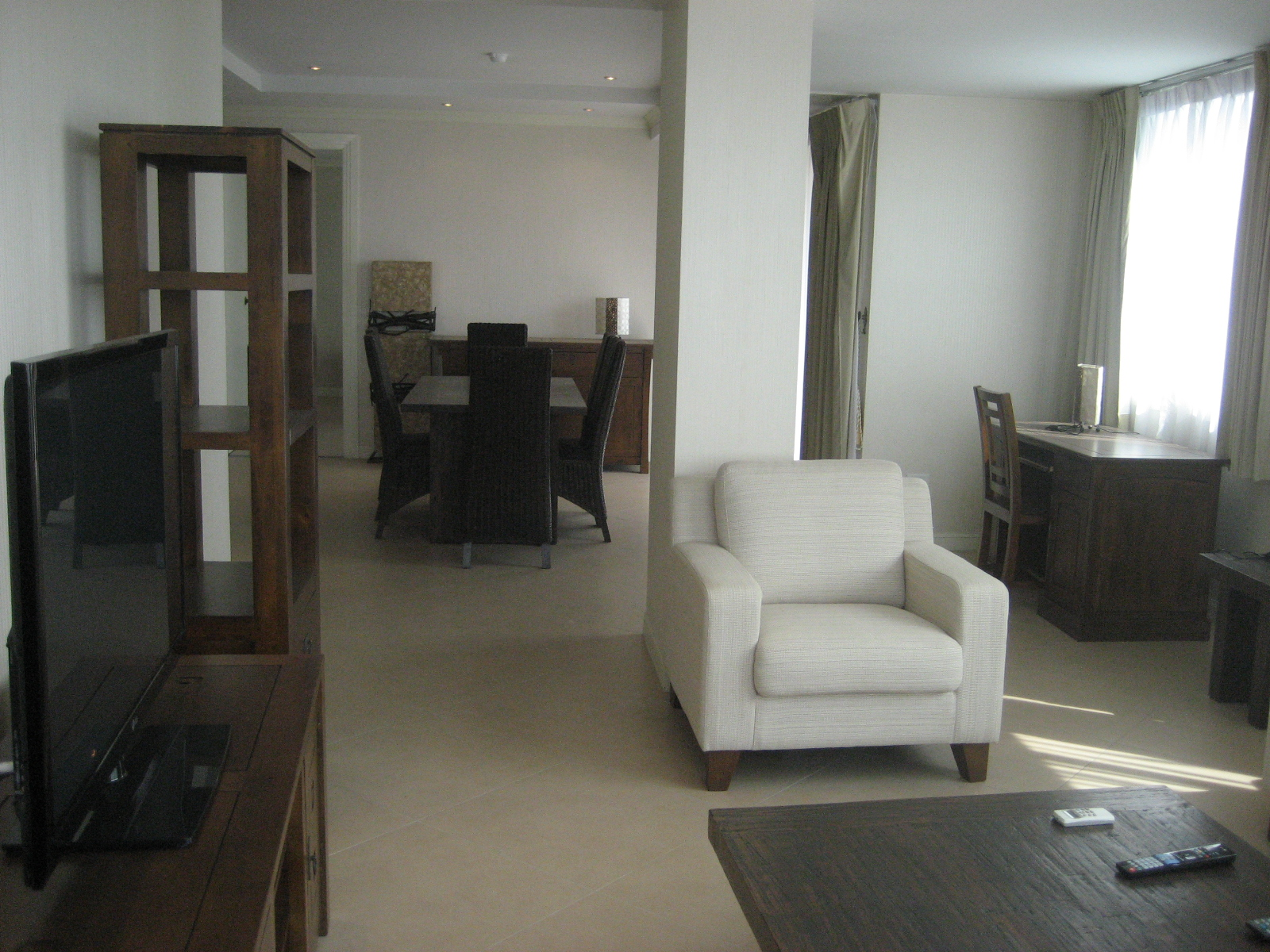 Living Room Nova Atrium Central Pattaya Condo For Rent