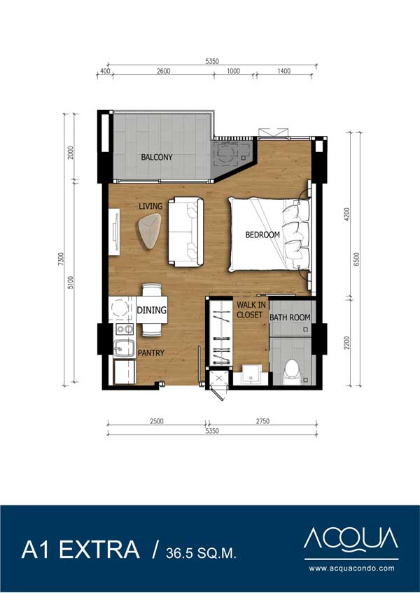 Roomplan-Acqua-Jomtien-real-estate-for-sale